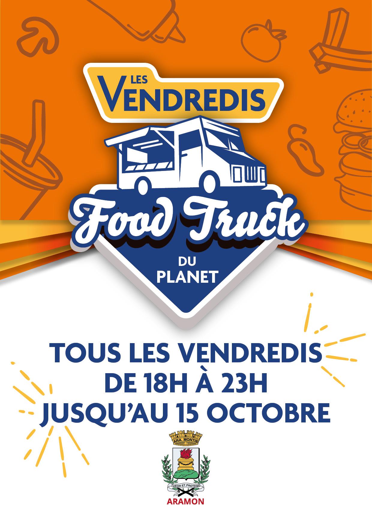 Les VENDREDIS Food-Truck
